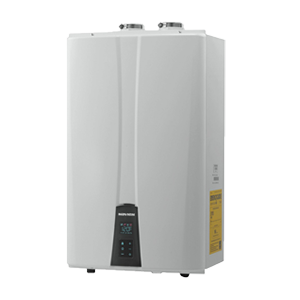 Navien Tankless Water Heaters provide endless hot water.